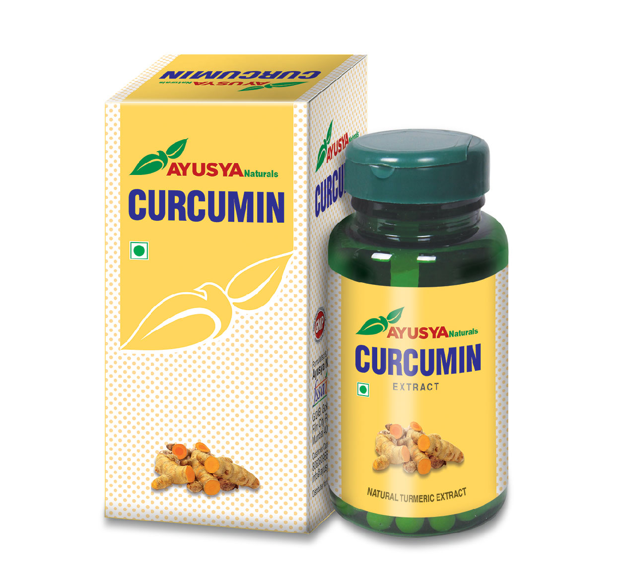 Curcumin Plus Tablets - Best Natural Herbal Antioxidant
